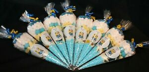 Minions Party Bags Personalised Pre Filled Goody Cones Birthday Sweets Free Del
