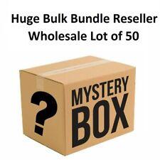 Huge Bulk Bundle Reseller wholesale Lot of 50 Phone Accessories Cases Mix Lot