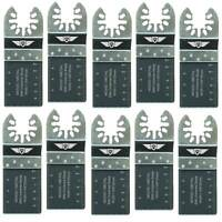 10x 35mm Bi-metal Blades For Dewalt Stanley Black & Decker Oscillating Multitool