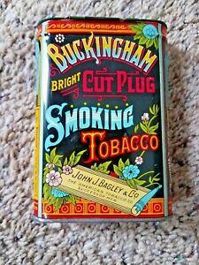 Vintage Buckingham Smoking Tobacco Empty Tobacco Tin