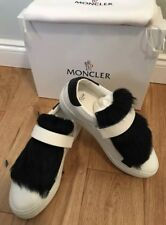 Moncler Victoire Womens Sneakers Trainer Shoes Uk 3 Eu 36 White Strap New Rare