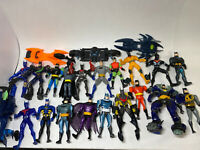 Lot of 19 Batman Action Figures From Late 1990s / Early 2000s (Hasbro, Kenner)