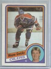 1984-85 Topps #51, Wayne Gretzky    Hockey Card