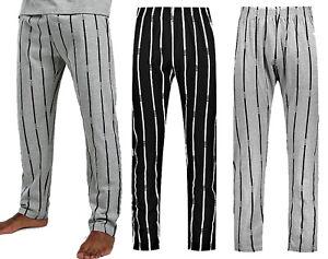 New Mens Loungewear Pyjama Trousers Stripe Pockets Lounge Pants Nightwear Cheap