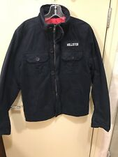 HOLLISTER by Abercrombie mens M Army Field Jacket Lined was $250 NWT