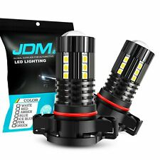 2x High Power PSX24W 2504 12276 15-SMD LED Fog Driving Light Bulbs 3000K Yellow