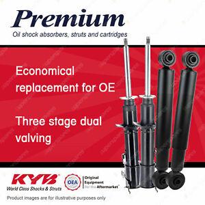 4 Front + Rear KYB Premium Strut Shock Absorbers for Daihatsu Handivan L500S