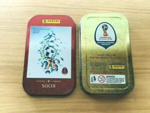 Panini Russia World Cup 2018 Sticker Collection - Empty Brazil Pocket Tins