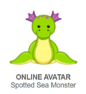 Webkinz Classic Spotted Sea Monster *Code Only*