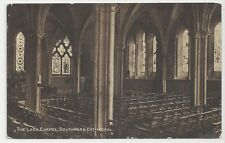 Old Dainty Series Postcard, The Lady Chapel, Southwark Cathedral