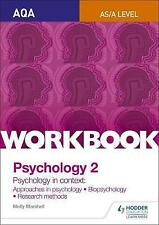 AQA Psychology for A Level Workbook 2: Approaches in Psychology, Biopsychology, Rresearch Methods by Molly Marshall (Paperback, 2015)