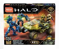 Mega Construx Halo 10 Year Anniversary Warthog Run Master Chief, Arbiter, Hunter