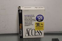 Rare MICROSOFT ACCESS RELATIONAL DATABASE MANAGEMENT SYSTEM FOR WINDOWS