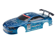 12301 1/10 SCALE DRIFT TOURING CAR BODY COVER SHELL RC BLUE