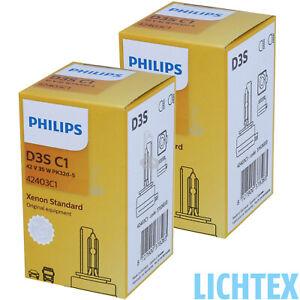 PHILIPS D3S 42403C1 OEM XenStart Standard Xenon Scheinwerfer Lampe ORIGINAL DB