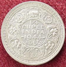Quarto Rupia India 1944 (D1703)