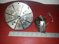 """Alina Scroll Chuck 8 jaw 5 3/4"""" diameter Schaublin w/ 5C adapter"""