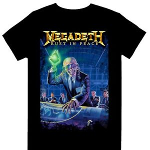 Megadeth - Rust In Peace 30th Anniversary Official Licensed T-Shirt