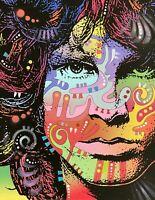 Dean Russo Art Original Artwork Jim Morrison  Music Pop Art Portrait