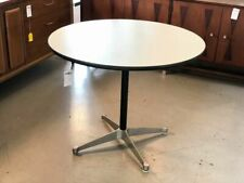 "Authentic Herman Miller Charles Eames 36"" dining table"