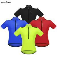Men's Cycling Jersey Short Sleeve Sports Shirt MTB Bike Tops Breathable Summer
