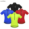Men's Cycling Jersey Short Sleeve Sports Shirt MTB Bike Tops Breathable Summer