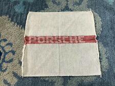 New ListingGenuine Porsche Factory Shop Towel Rag 356 911 912 Vintage Classic Accessory