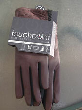NEW! Ladies Fownes Bros Touchpoint Comfortable Smart Gloves Tan/Black Size S/M