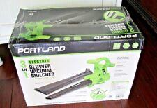 New Portland 3 in 1 Electric Blower Vacuum Mulcher