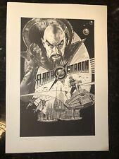 Flash Gordon (1980) movie Art Print Lawrence Noble