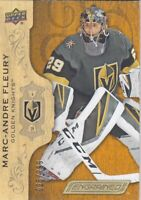 MARC-ANDRE FLEURY NO:15 UD ENGRAINED 025/299 in UPPER ENGRAINED 2018-19   a
