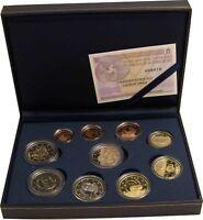Spanien 1 Cent bis 2 Euro 2012 KMS mit 2 Euro Burgos und Bargeld Polierte Platte