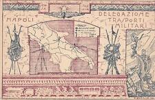 A6058) NAPOLI, UFFICIO MILITARE DI STAZIONE, DELEGAZIONE TRASPORTI MILITARI.