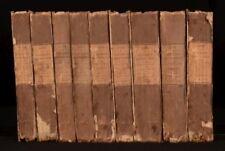 1827 9vol Walter Scott The Life Of Napoleon Buonaparte Scarce Complete Set