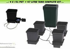 Autopot 4 x 15 Litre Pot Grow System Kit Complete With 47 Litre Tank Hydroponics