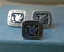 James Avery Womens Chamber Inc Earrings And Kerrville Chamber Of Commerce Pin