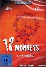 DVD NEU/OVP - 12 Monkeys - Bruce Willis & Brad Pitt