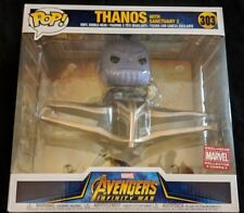 Funko Pop! #303 THANOS WITH SANCTUARY 2 *Collector Corps Infinity War Exclusive*