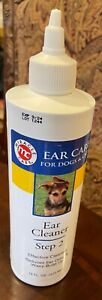 Miracle Pet Ear Cleaner Step 2 Ear Odor Wax Build Up Dog Cat 16 Oz Bottle Damage