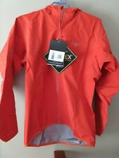 Mens New Arcteryx Norvan Jacket Hoody Size Small Color Flare