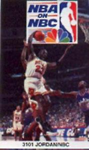 "1997 Starline Michael Jordan NBA On NBC Poster 22"" x 34"" Unopened NIP #3101"