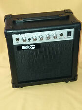 Gitarren - Verstärker E-Drum RockJam GA20W 20 W Amp 3Band Equalizer Musik Bass