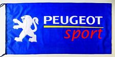 PEUGEOT FLAG BLUE - SIZE 150x75cm (5x2.5 ft) - BRAND NEW