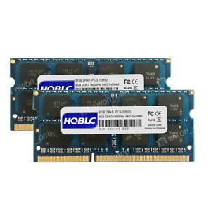 New 16GB 2x8GB 2Rx8 PC3-12800 1600MHz 204pin AMD SoDIMM Laptop Speicher Memory