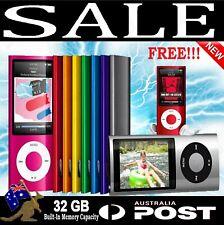 NEW!  32GB Portable LCD MP3 MP4 Music Video Media Player FM Radio