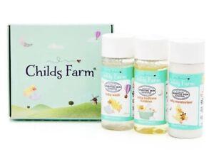 ✨Childs farm bedtime sample/travel size set 3 pack 30ml each bottle 🇬🇧 UK ✨