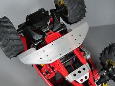 Chassis Aluminum Under Spoiler Wing Splitter Tamiya 1/10 Mud Blaster Grasshopper