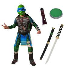 Kids TMNT Leonardo Costume STANDARD TARTARUGHE NINJA Ragazzi Halloween