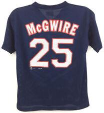 Mark McGwire Youth Mesh Batting Jersey Shirt #25 Vintage Cardinals Baseball Sz M