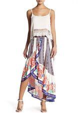 NEW Flying Tomato Pieced Print Ruffle Skirt Size Medium